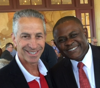Dr. Richard Staller with Dr. Bennet Omalu