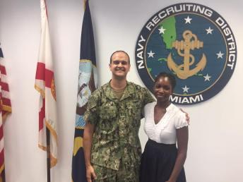 Eva Laurent- US Navy- FAU Dentist - Dr. Richard Staller
