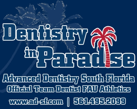 Winning in Paradise, Dentistry in Paradise, FAU Team Dentist, Dr. Richard Staller